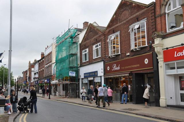 Brian Chadwick/High Street - Burton-on-Trent